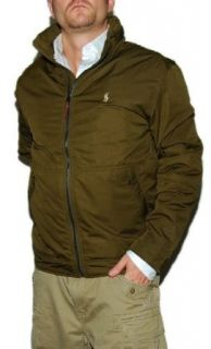 Polo Ralph Lauren Mens Hoodie Jacket Coat Army Green Large