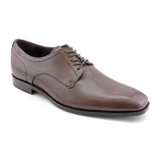 Hugo Boss Mens Recco Leather Dress Shoes