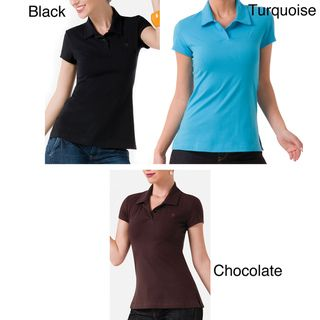 Illusion Womens Cotton Perfect Fit Polo Shirt