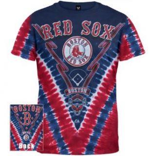 Boston Red Sox   Logo V Dye T Shirt Clothing