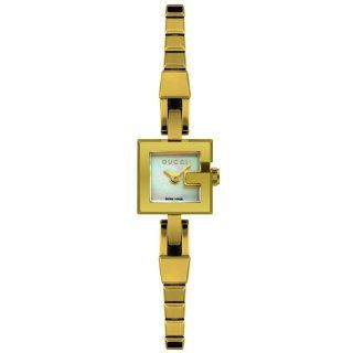 GUCCI Womens YA102587 102 Collection 18k Gold Plated Stainless Steel