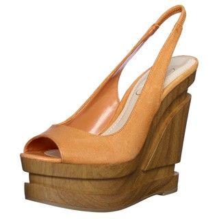Jessica Simpson Womens Alexy Wedge Sandals