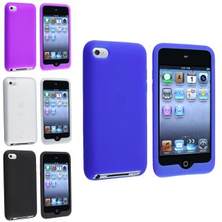 Blue/ Purple/ White/ Black Case for Apple iPod Touch 4th Generation