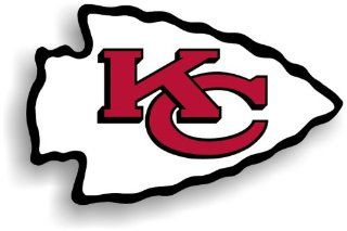 NFL Kansas City Chiefs 12 Inch Vinyl Logo Magnet Sports