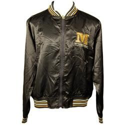 Miskeen Mens Brown Full Zip Jacket