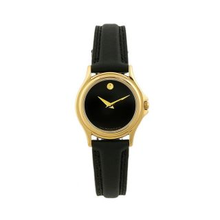 Movado Womens Classic Museum Stainless Steel Quartz Watch
