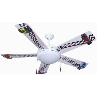 Racing Car 52 inch Ceiling Fan