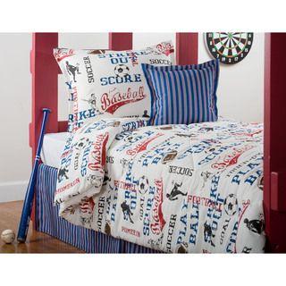 All American Twin 3 Piece Comforter Set