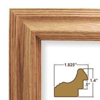 10x25 Picture / Poster Frame, Wood Grain Finish, 1.825
