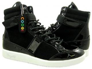 Coogi Mens CMF103 Black Casual Sneakers/Shoes US 7.5 Shoes