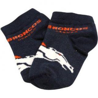 NFL Denver Broncos Infant Oversized Logo Socks   Navy Blue