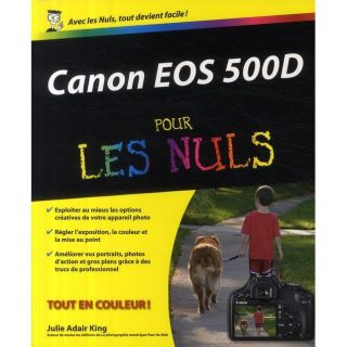 Canon EOS 500D   Achat / Vente livre Julie Adair King pas cher