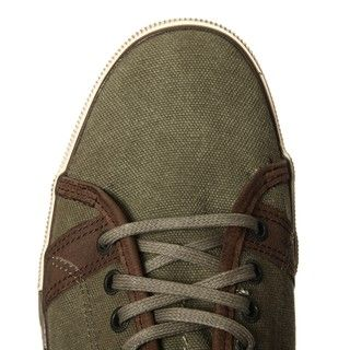 Lounge by Mark Nason Mens Myers Canvas Low Top Lace up Sneaker