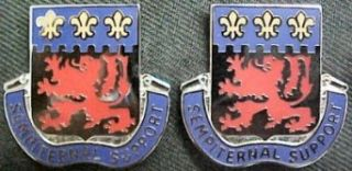 105th Engineering Group Distinctive Unit Insignia   Pair