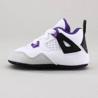 JORDAN 4 RETRO Style# 487219 108 CRIB Size 4 Shoes