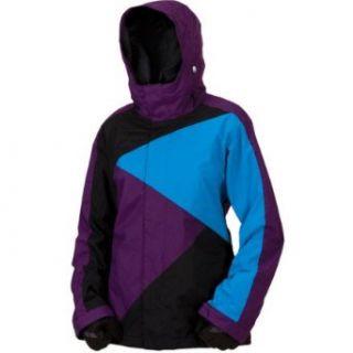 BONFIRE Womens Echo Ski & Snowboard Jacket,GARNET/BLACK