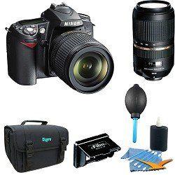 Nikon D90 DX Format Digital SLR Outfit w/ 18 105mm DX VR