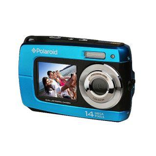 Polaroid IF046 14.1MP Waterproof Blue Digital Camera Today $89.49