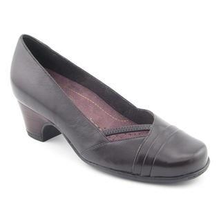 Clarks Womens Sugar Sky Leather Dress Shoes   Narrow (Size 12