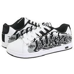 Lugz Paragon Dyse One White/ Black/ Grey Athletic