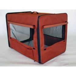 GoPetClub 26 inch Folding Soft Dog Crate