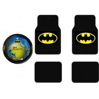 Batman Auto Accessories Interior Kit   Front & Rear Floor Mats