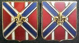 111th Field Artillery Distinctive Unit Insignia   Pair