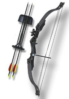 20 Lbs. Nice Black Hunter Archery Compound Bow Sports