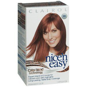 CLAIROL NICE N EASY 111 N MD AUBURN 1 EACH Health