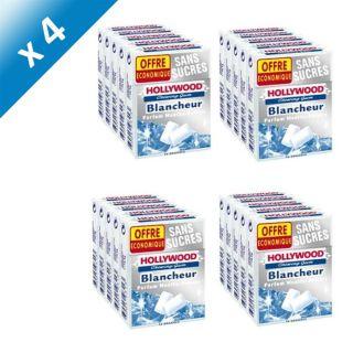 Chewing sans sucres   Packs de 5 étuis de 10 dragées, 72,5g