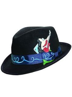 Carlos Santana Hat Magic Woman SAN112 Black Clothing
