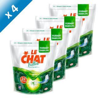 LE CHAT Expert Recharge 32 Capsules x4   Achat / Vente LESSIVE LE CHAT