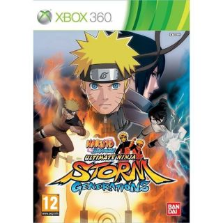 NARUTO SHIPPUDEN ULTIMATE STORM GENERATIONS / X360   Achat / Vente