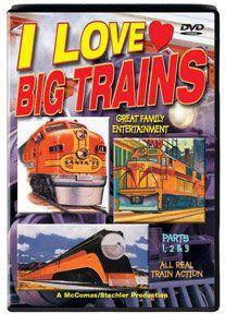 TM Books 113 I Love Big Trains DVD Parts 1 3 Sports