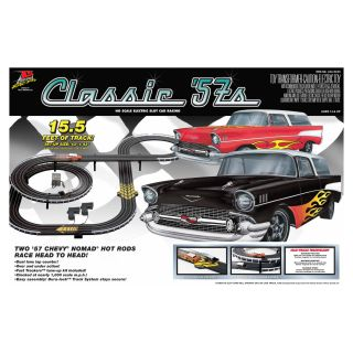 Classic 57s Chevy Nomads Slot Car Racing Set