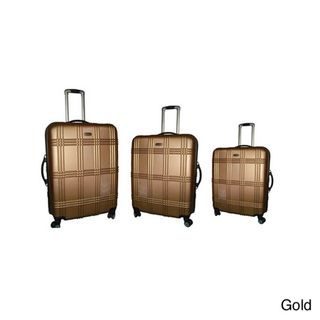 NY Cargo Hercules Vacationer 3 piece Hardside Spinner Luggage Set