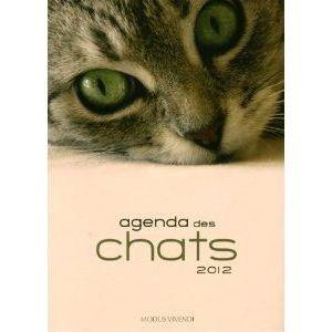 Agenda des chats 2012   Achat / Vente livre Collectif pas cher