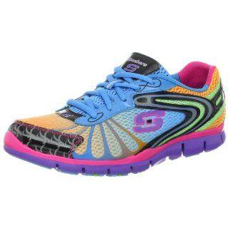 Skechers Womens Confetti Color Fashion Sneaker Shoes