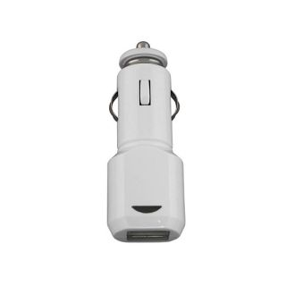 USB Car Charger Adapter with LED Light