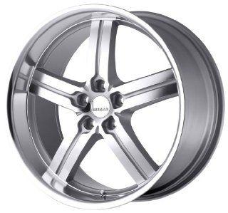 Lumarai Wheels Morro Silver Machined Wheel (18x8/5x114.3mm)
