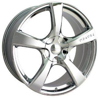 Chrome) Wheels/Rims 4x100/114.3 (3190 7701C)    Automotive