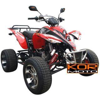 Quad Kor Moto Racer 250 Rouge   Achat / Vente QUAD Quad Kor Moto Racer