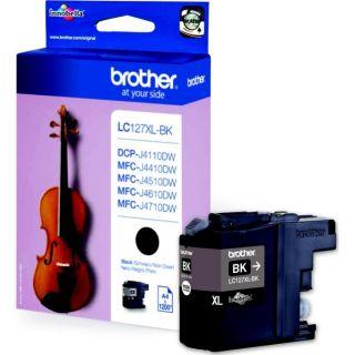 Brother LC127XLBK   Achat / Vente CARTOUCHE IMPRIMANTE Brother