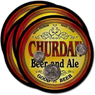 Churdan, IA Beer & Ale Coasters   4pk: Everything Else