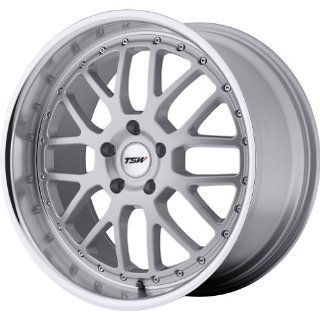 TSW Valencia Silver Wheel with Machined Lip (18x9.5/5x114.3mm