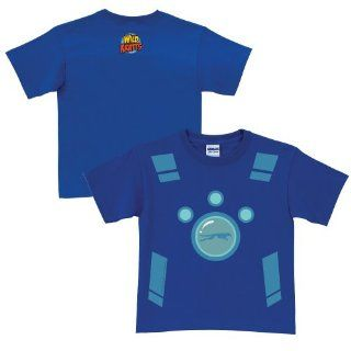Wild Kratts Creature Power Suit Royal Blue T Shirt Size 6 8 by Tys