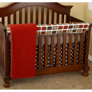Cotton Tale Houndstooth 4 piece Crib Bedding Set