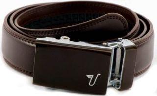 Mission Belt Mens Brown Leather Ratchet Belt   Large
