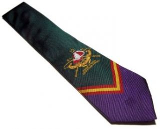 Polo Ralph Lauren Mens Silk Equestrian Tie Green Purple