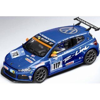 132, VW Scirocco 24h Nürburgring, No.117 Race Car: Toys & Games